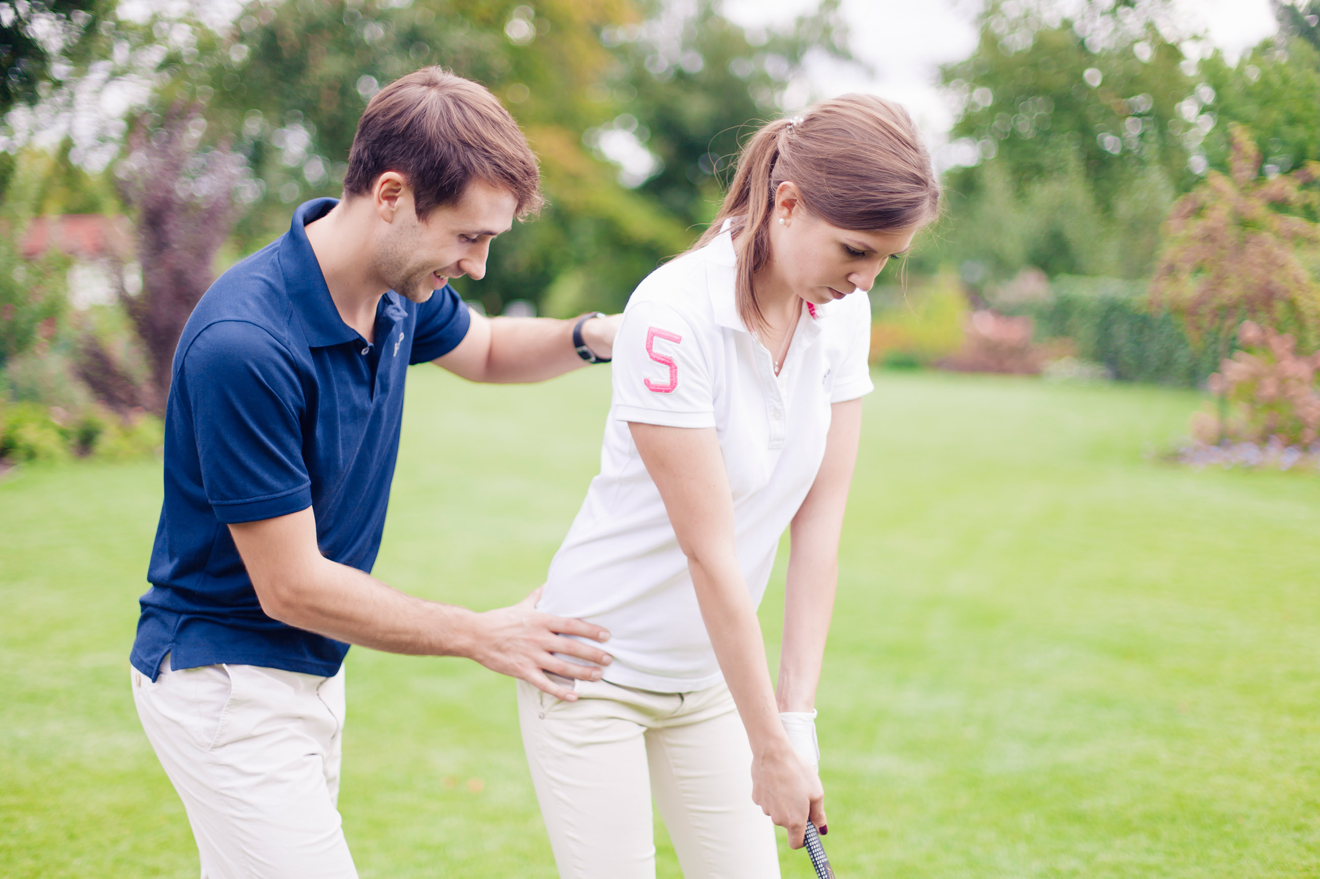 Golferbeschwerden